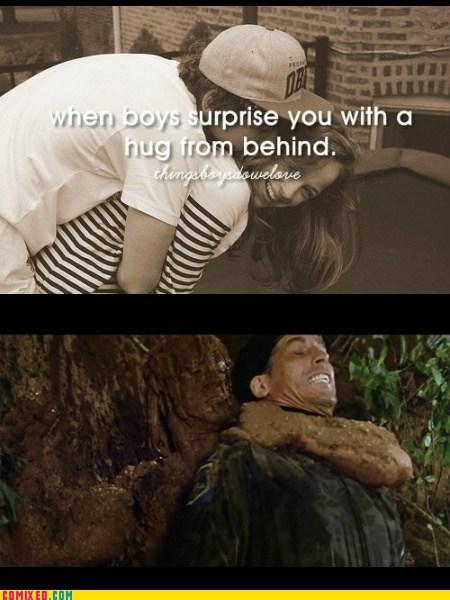 rambo things boys do surprise hugs - 7387982592