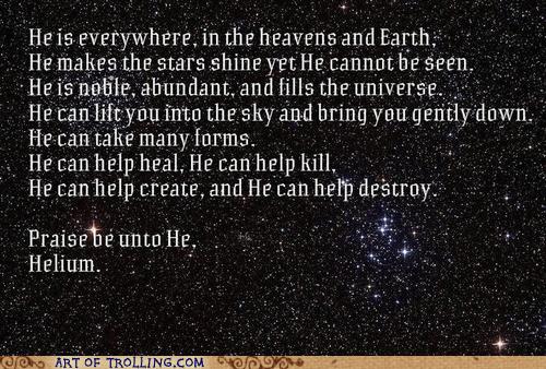 he is risen,helium