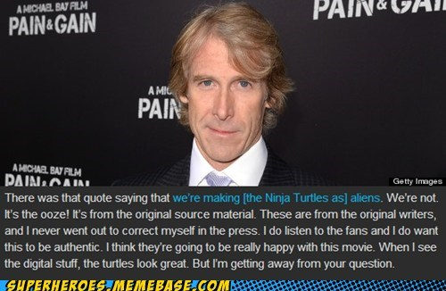 Michael Bay,Aliens,TMNT