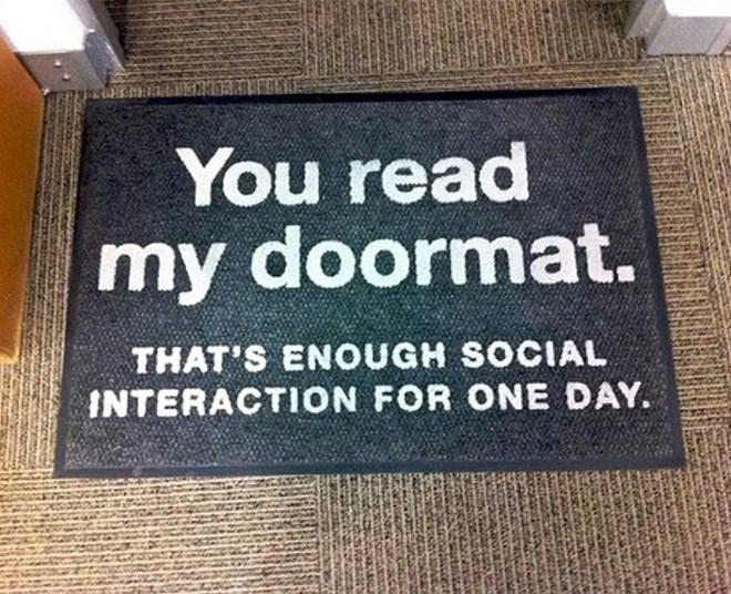 guests doormats welcome funny - 7389701