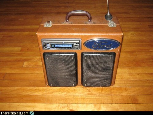 DIY Ford Boom Box