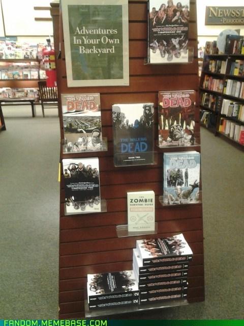 books zombie The Walking Dead - 7390784768