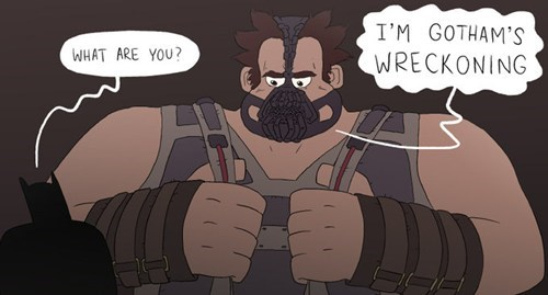 art,bane,batman,wreck-it ralph