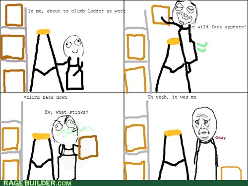 ladder farts okay guy - 7391550720