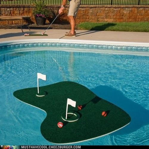 relaxing golf pool