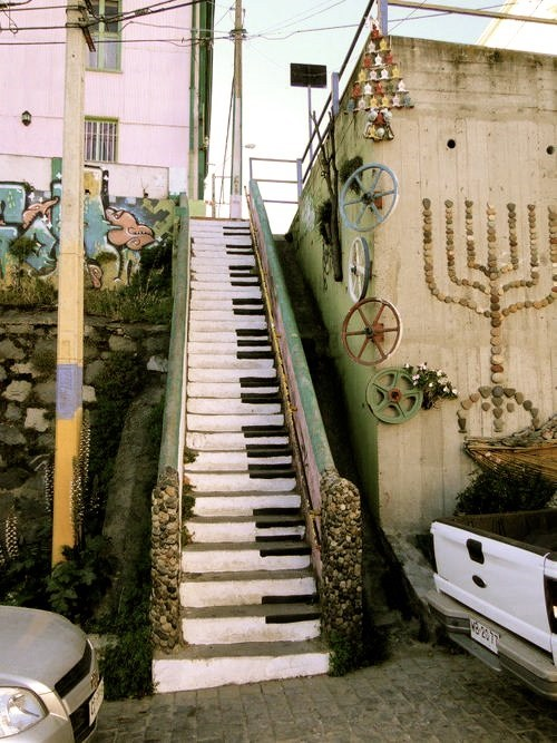 art,pianos,stairways
