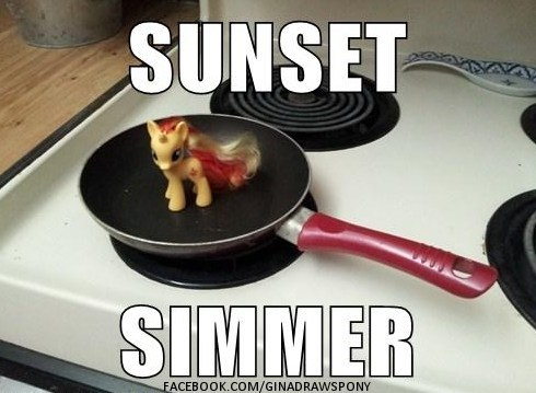 ponies toys IRL sunset simmer - 7393220864