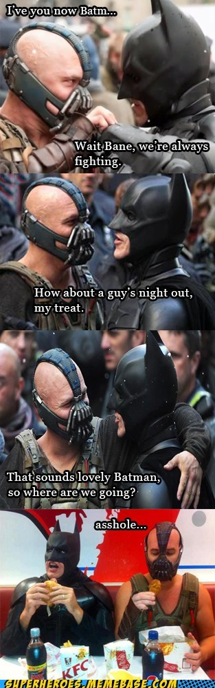 bro bane dude's night out batman - 7395590144