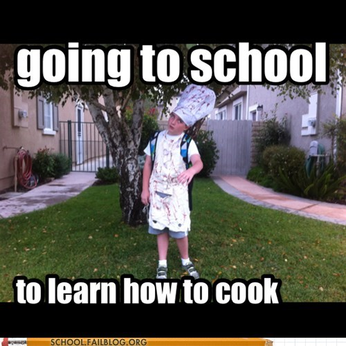 school wtf cook chef - 7395950592