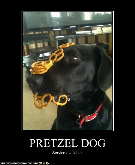 PRETZEL DOG Service available.