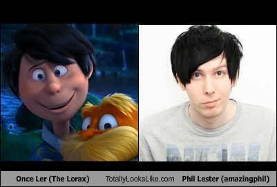 Once Ler (The Lorax) Totally Looks Like Phil Lester (amazingphil)