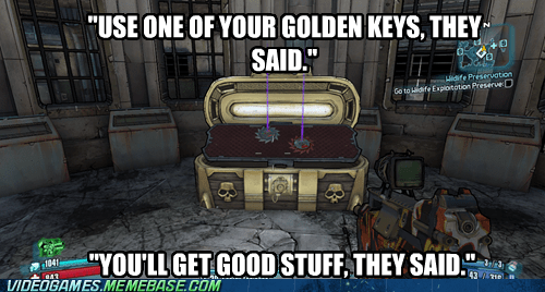 golden chest borderlands 2 video games They Said