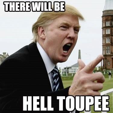 toupee hell donald trump - 7397716224
