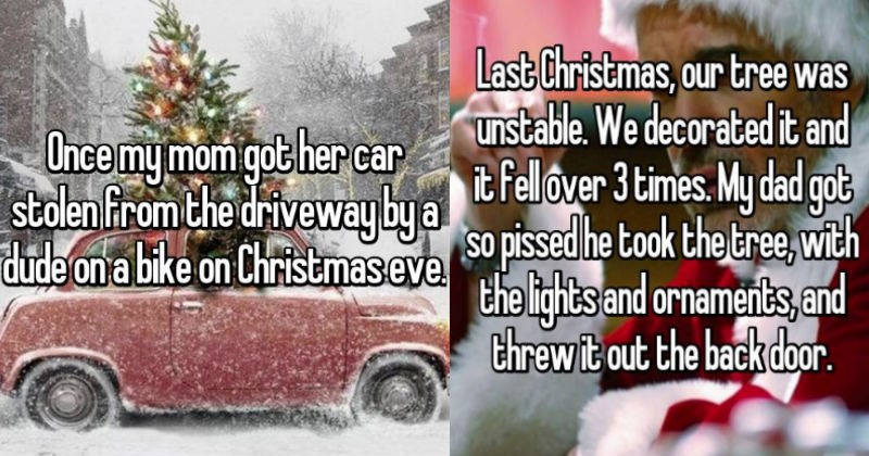 christmas fail stories