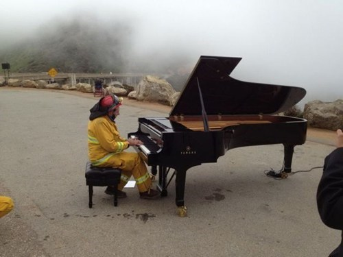 piano,alicia keys,clever,fire fighter