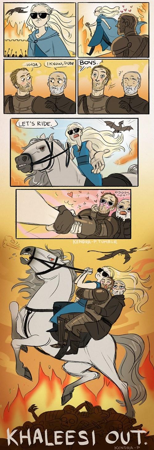 Game of Thrones Fan Art Daenerys Targaryen - 7400478976