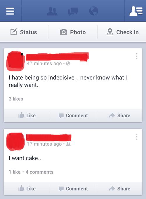 cake decisions decisions indecisive - 7400565504
