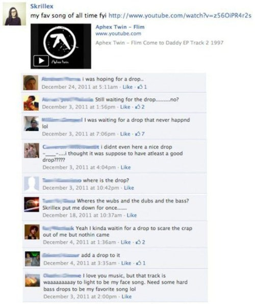 Music,skrillex,facebook