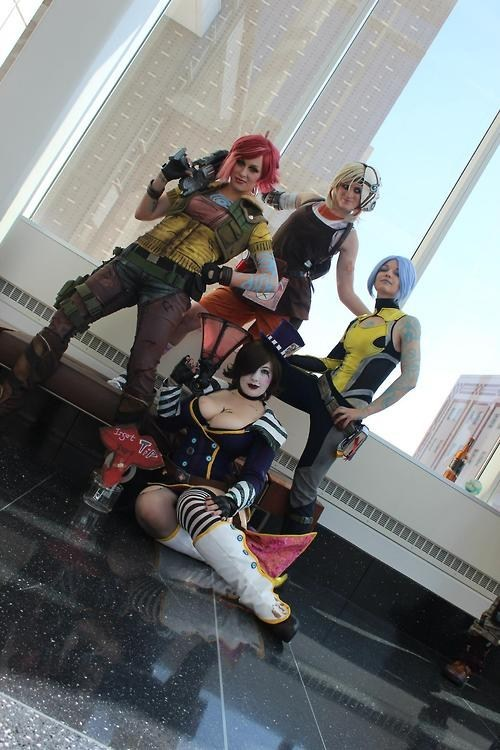 cosplay,borderlands 2,video games