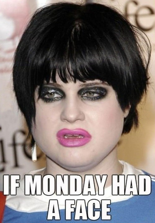 mondays Kelly Osbourne faces - 7400810240
