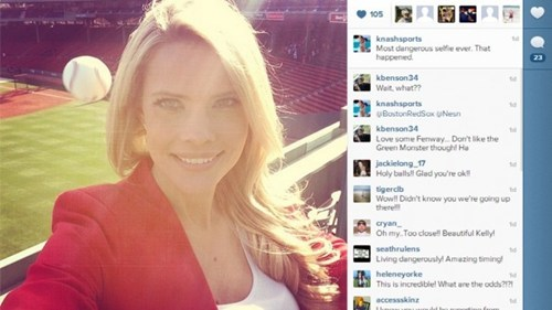 Photo Op of the Day: A Reporter's Instagram Self Reveals a Near-Death Experience