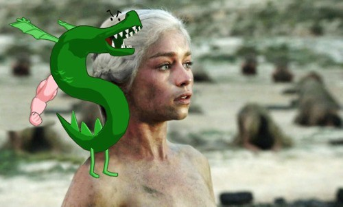trogdor homestar runner Game of Thrones Daenerys Targaryen - 7400831488