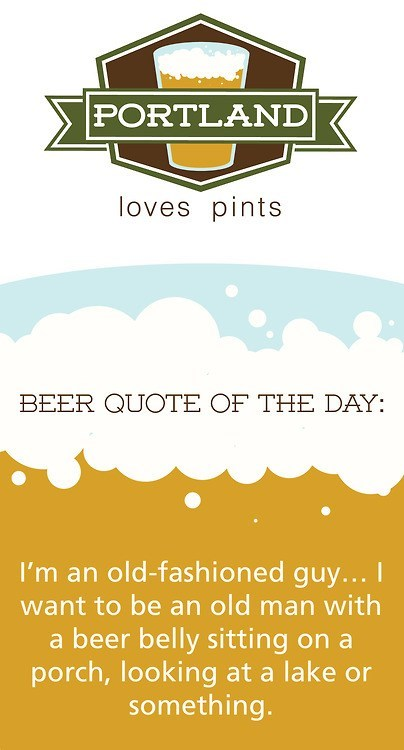 quotes beer portland funny - 7400947712