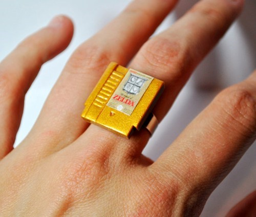 legend of zelda Jewelry nerdgasm ring video games - 7401165824