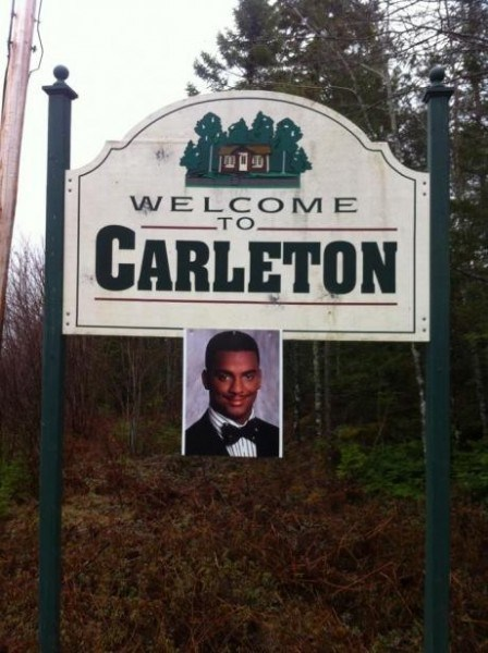 sign Fresh Prince of Bel-Air carleton - 7401185536