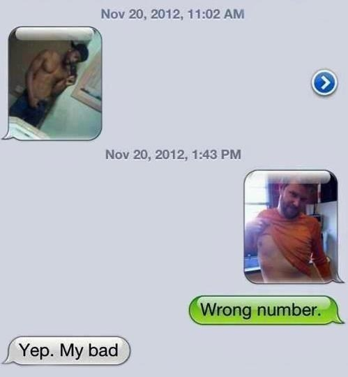 wrong number,sexting