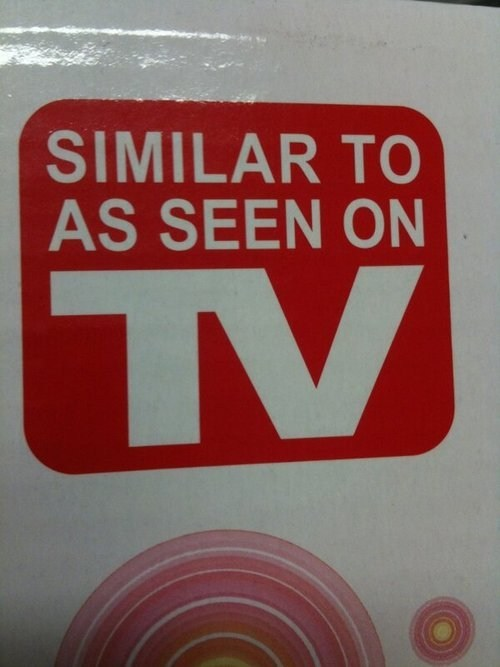 as seen on tv,similar to as seen on tv