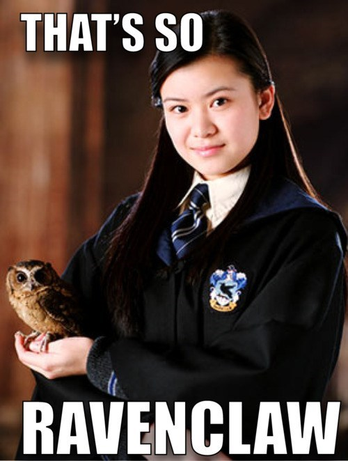 Harry Potter ravenclaw thats so raven - 7401434368