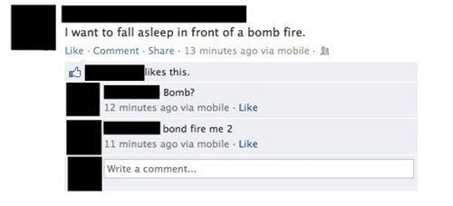 bonfire,spelling