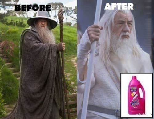 laundry Lord of the Rings wizards