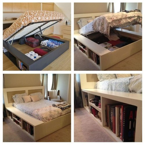 bed storage design