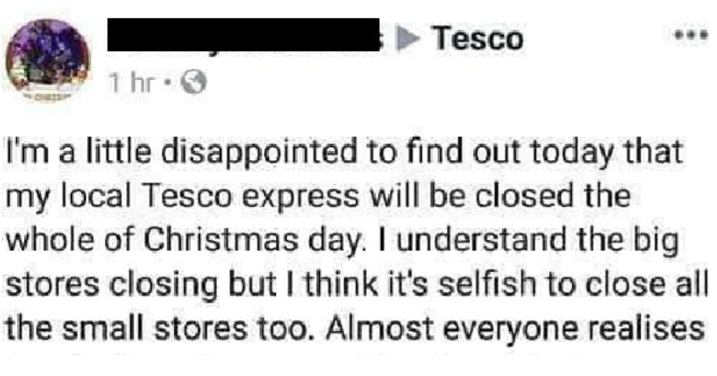 Tesco Customer Service Savage