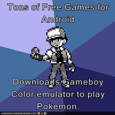 Tons of Free Games for Android Downloads Gameboy Color