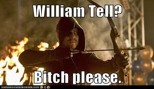 arrow cw william tell - 7404390912