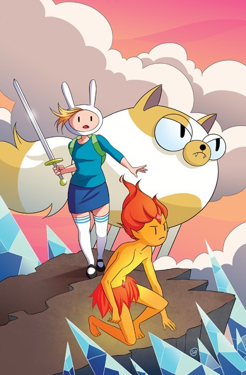 Fionna and Cake adventure time - 7404870656