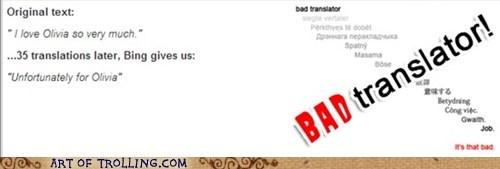 Bad Translator olivia relationships - 7405275648