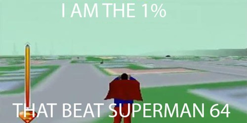 superman 64,nintendo 64,video games,worst game ver