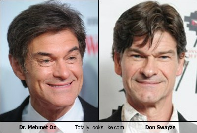 Dr-Mehmet-Oz,Don Swayze,totally looks like