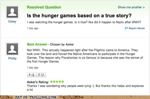 yahoo answers world war 2 hunger games - 7405892608