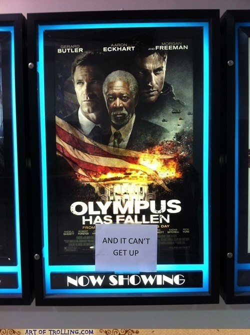 olympus has fallen life alert Morgan Freeman - 7406034944
