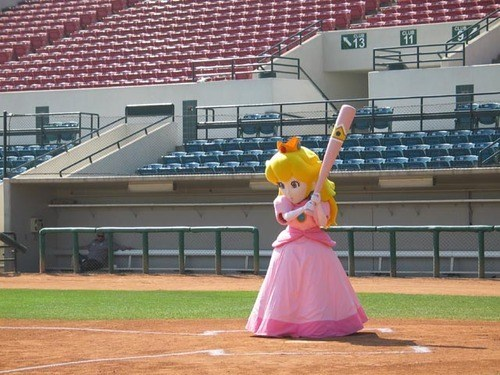 wtf,sports,princess peach,bats