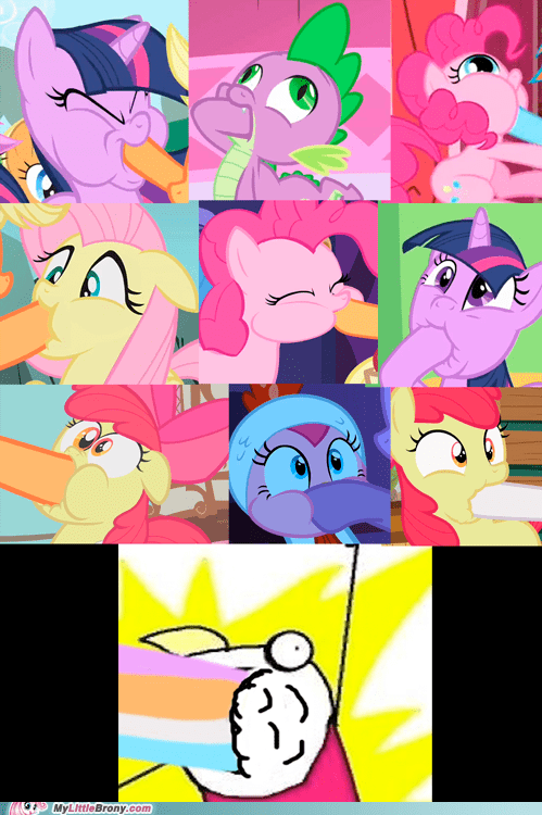 marshmallows facehoof wtf all the things - 7406559744