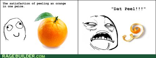 me gusta,oranges,dat peel