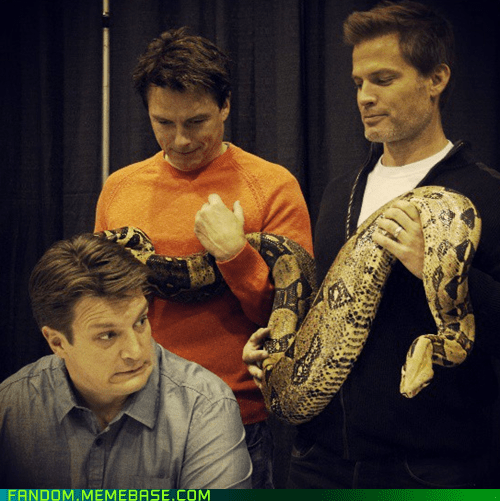 nathan fillion celeb john barrowman - 7407160064