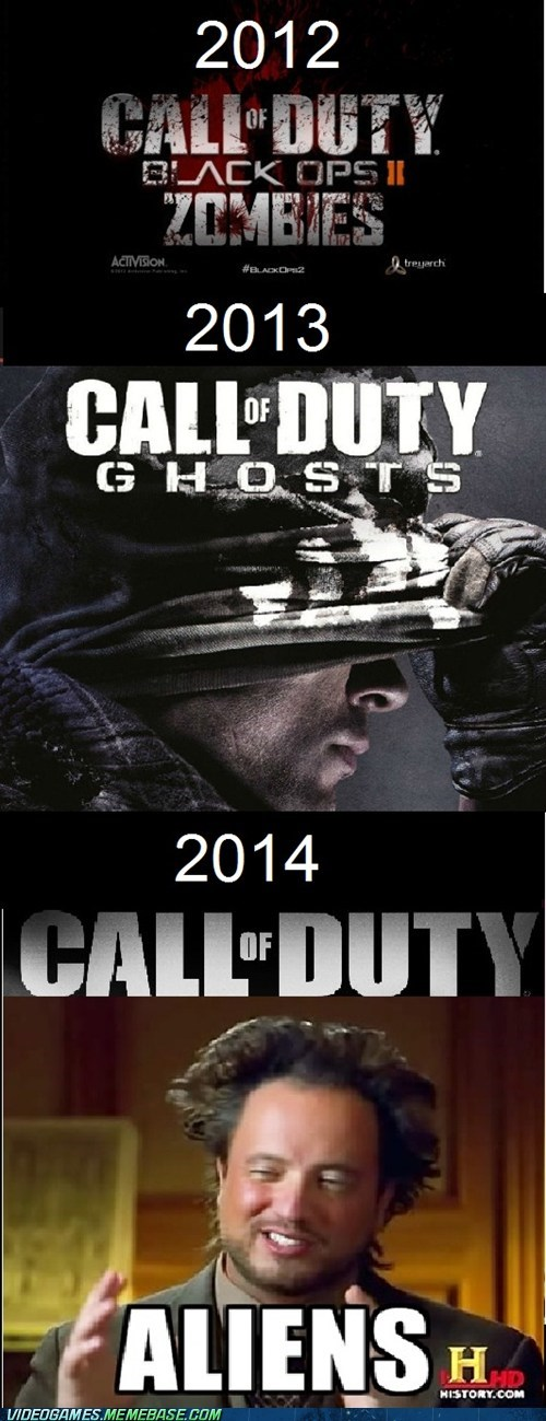call of duty Aliens call of duty ghosts Memes - 7407482112