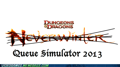 pcs,neverwinter,queues,dungeons and dragons